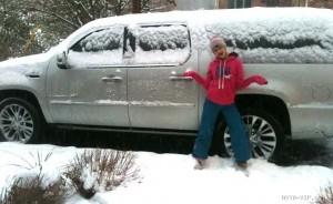 Зимние внедорожники на дорогах и вне