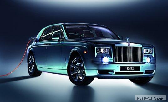 Rolls-Royce 102EX — первый в мире электромобиль экстра-класса