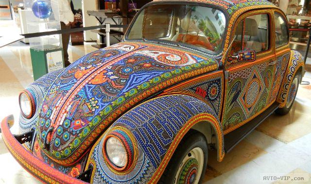 Бисерный автомобиль Vochol из Мексики