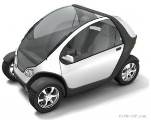 Компактный электроминикар Citycar