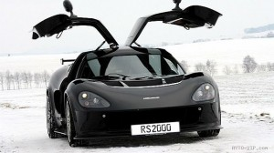 Необычная покраска автомобиля RS2000 Black Edition