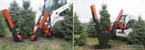 Пересадчик деревьев Бобкэт