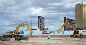 Взрослые игры в песочнице возле Лас-Вегаса
