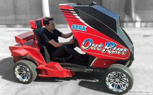 Sega OutRun вырвалась на улицы города