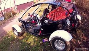 Багги с мотором от Хонды