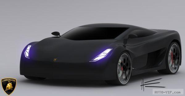 Суперкар-гибрид Lamborghini Mantis (концепт)