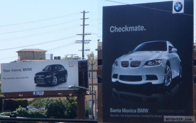 Audi vs BMW — кто кого?