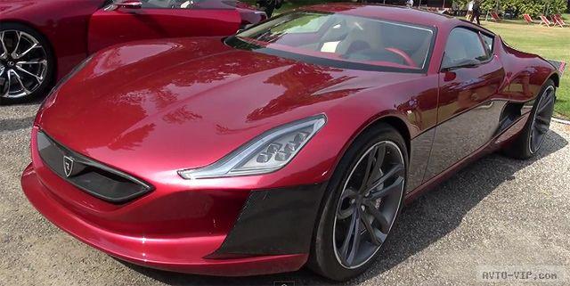 Rimac Concept One — самый быстрый электроавтомобиль (видео)
