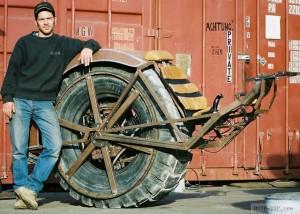 The RIOT Wheel — новое изобретение старого колеса