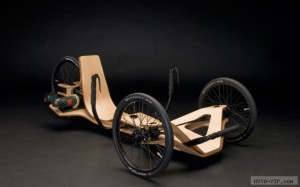 Трицикл из фанеры с шуруповертом