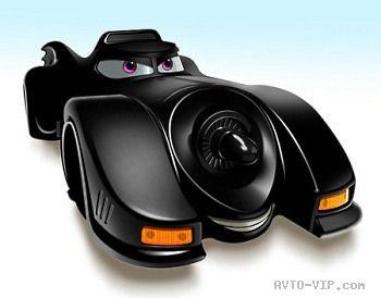 Звёздные автомобили глазами Pixar