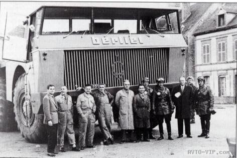 Грузовик Berliet T100 — когда французы были большими