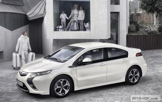 Opel Ampera — надежный электромобиль