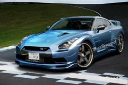 Nissan 2012 GT-R – неожиданность на автошоу в Лос-Анджелесе