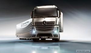 Обтекаемая фура от Mercedes