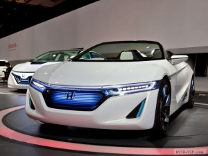 Honda EV-STER — экономный зверь