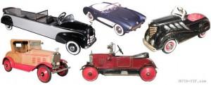 Коллекция американских детских машин