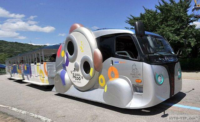 Зарядка на ходу: сеульский электрический трамвай