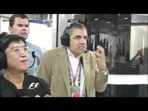 Мистер Бин на Формуле-1