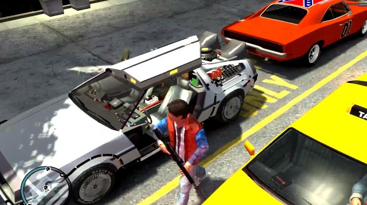 Мод для GTA — «Назад в будущее»