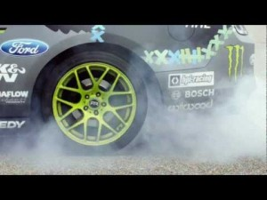 Замедленное видео о взрыве шины