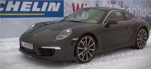 Испытание зимних шин для спорткаров