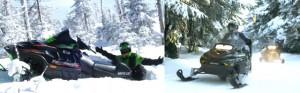 Сезон снегоходов