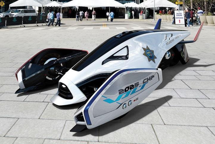 2025 год — полицейские автомобили будущего