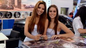 Самые красивые девушки на SEMA 2012