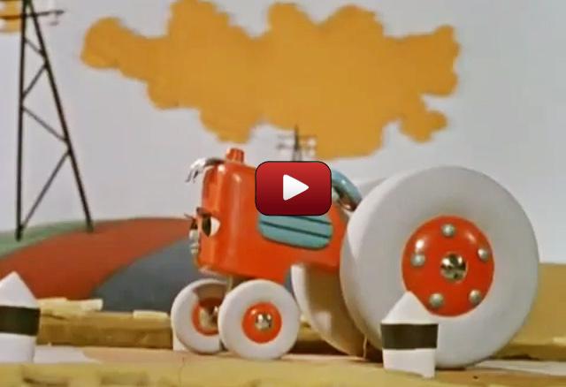 Мультик про трактор: Новичок