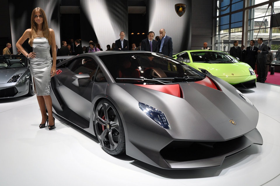 Sesto Elemento — новый спорткар от Lamborghini
