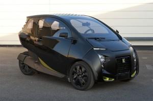 Трехколесный электромобиль VeLV — обновленный концепт