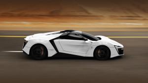 Первый арабский суперкар LykanHyperSport