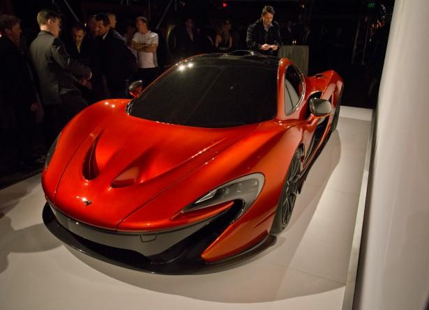 McLaren показала свой новый суперкар McLaren P1