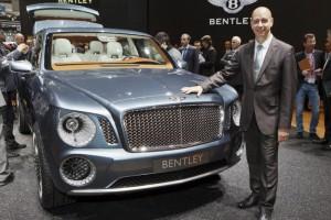 Bentley выпустила модель внедорожника с абсолютно новым дизайном