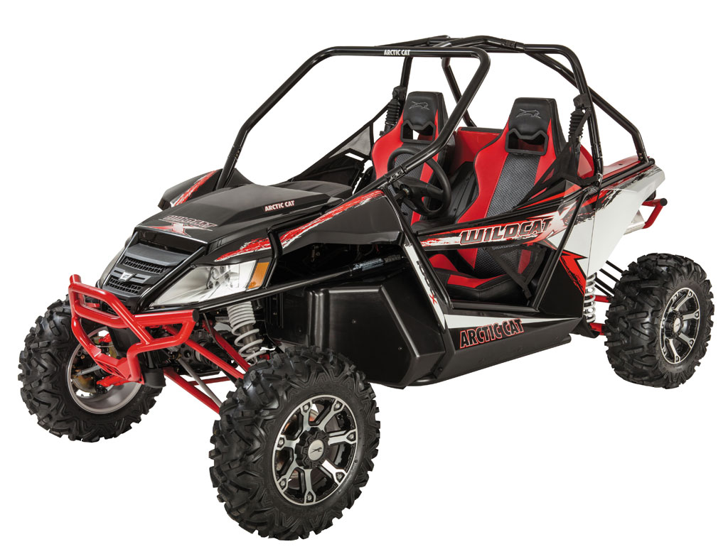 Спортивный мотовездеход side-by-side Wildcat 1000 X