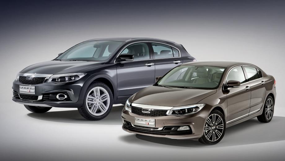 Автомобили китайской фирмы Qoros