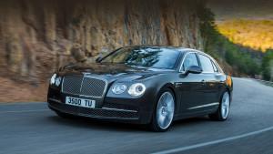 Новое поколение седана Bentley Continental Flying Spur