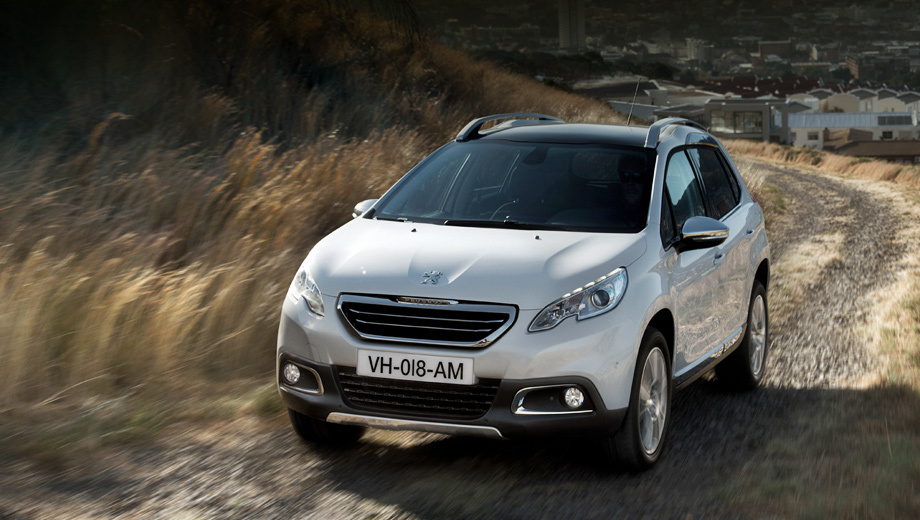 Компактный внедорожник Peugeot 2008