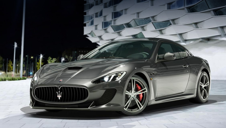 Четырехместная версия спорткупе Maserati GranTurismo MC Stradale