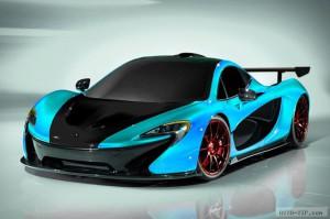 Новые данные о суперкаре McLaren P1