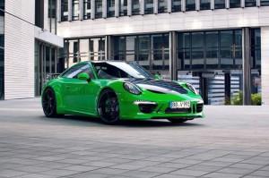 Тюнинг спорткупе Porsche 911 Carrera 4S от TechArt