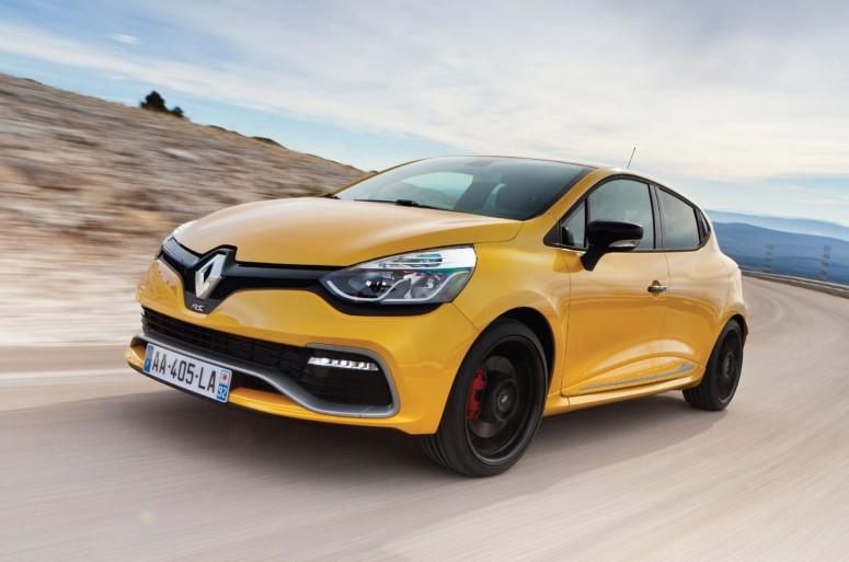 Спортивный хэтчбек Renault Clio Renaultsport 200