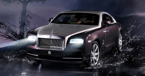 Элегантное двухдверное купе Rolls-Royce Wraith