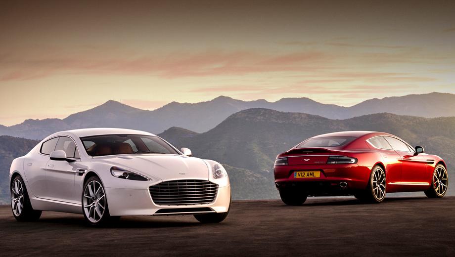 Aston Martin Rapide S — испытание роскошью