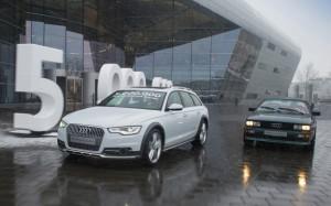 Audi выпустила 5 миллионов автомобилей с приводом quattro
