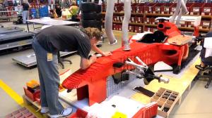 Автомобили, построенные из конструктора lego