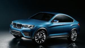 Концепт внедорожного купе X4 от BMW