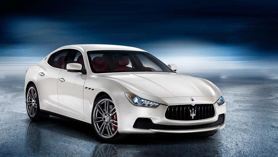 Новый седан Maserati Ghibli