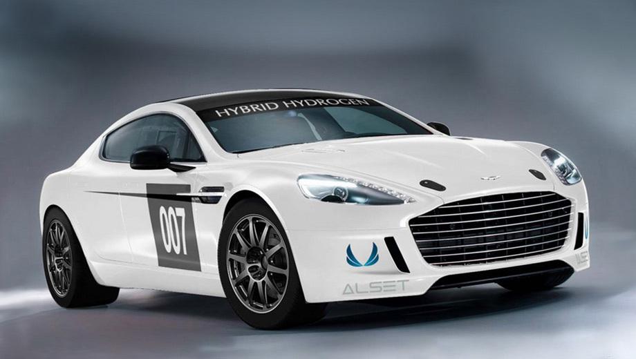 Водородный спорткар Aston Martin Hybrid Hydrogen Rapide S